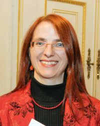 Dr.in Elisabeth Klatzer im Rahmen der Käthe-Leichter-Preisverleihung 2010