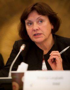 Virginija Langbakk, EIGE